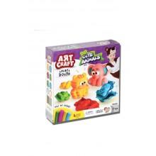 3D Hayvanlar Oyun Hamuru Seti / 200 gr