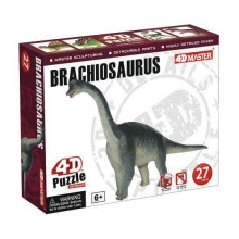4D Puzzle Brachiosaurus