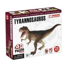 4D Puzzle T-rex