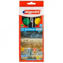 Bigpoint Suluboya 12 Renk - Büyük Boy