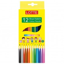 Lotte Kuru Boya Kalemi 12 Renk