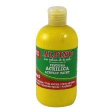 Alpino Akrilik Boya-Sarı 250 ML