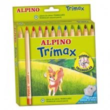 Alpino Trimax 12 Li Jumbo Kuru Boya