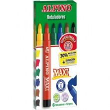 Alpino 6 Lı Maxi Keçeli Boya