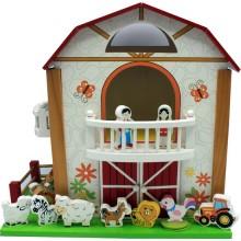 Ahşap Sevimli Çiftlik Evi