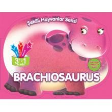 Brachıosaurus - Şekilli Hayvanlar Serisi